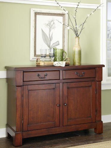 (Aspen Rustic Cherry Buffet by Home Styles)