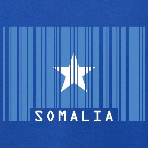 Somalia / Bundesrepublik Somalia Barcode Flagge - Herren T-Shirt - Royalblau - S