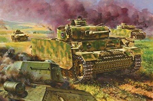 サイバーホビー 1/35 WW.II ドイツ軍 III号戦車M型 w/シュルツェン 1943年クルスク戦仕様 B00M9UCE1C