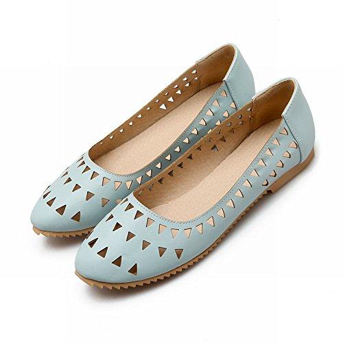 Womens Summer Blue Foot Flats Charm Spring Charm Foot Shoes Comfort Fwq1U4pXn