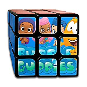 Smooth Sequential Puzzle Toy Bubble-guppies Speed Cube Standard 3x3 Smooth Magic Cube Puzzles, IQ Games Puzzles
