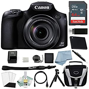 Canon Powershot SX60 HS Bundle + Canon SX60 HS Advanced Accessory Kit - Including EVERYTHING You Need To Get Started