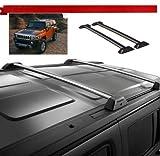 hummer cross bars - 06 07 08 09 10 Hummer H3 OE Style Roof Rack Cross Bars Set W/ Lock H3T Luggage