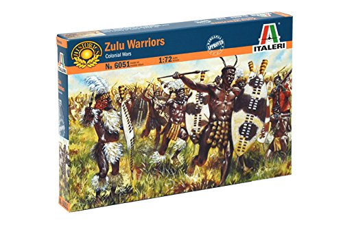 Italeri - Zulu Warriors 1:72 The Hobby Company 6051