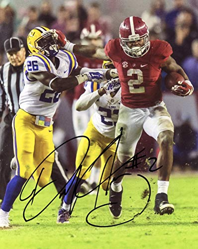 (Derrick Henry Alabama Crimson Tide Autographed Signed 8x10 Photo - Certified Authentic)
