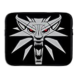 Custom Cute Wolf Head Anti-shock Notebook Sleeve Case Bag 15 Inch