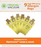 Kenmore 50688, 50690 9-Pack Allergen Filtration Vacuum Cleaner...