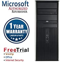 HP DC7900 Business High Performance Tower Desktop Computer PC (Intel C2D E8400 3.0G,4G RAM DDR2,320G HDD,DVD-ROM,Windows 7 Professional)(Certified Refurbished)