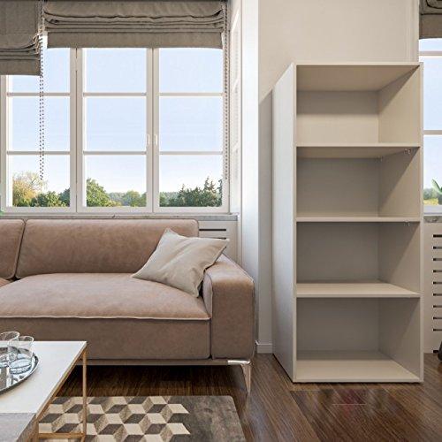 Animalmarketonline Scaffali Libreria VICCO Facile 155 x 60 cm Bianco