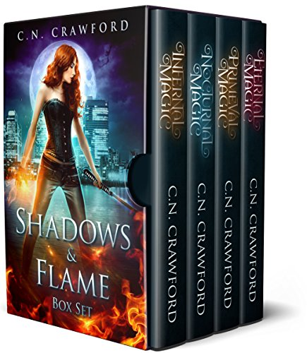 Shadows & Flame Complete Boxed Set: Demons of Fire and Night Novels (English Edition)