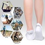 VWELL Athletic Running Socks for Men Women Thick