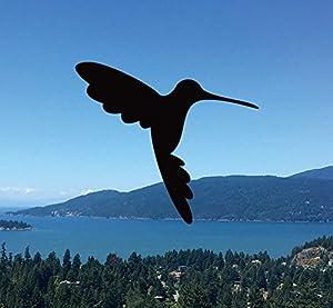 Amazoncom Retractable Screen Door Decals Per Package Keep - Window alert hummingbird decals amazon