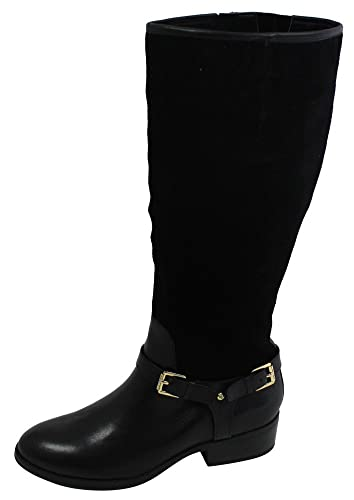 01ffd736ee08 Image Unavailable. Image not available for. Color  Ralph Lauren Women s  Marion Leather Riding Boots Black ...