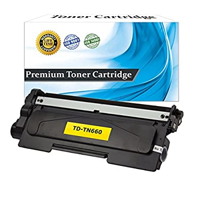 Top Dog Compatible Replacement For Brother TN660 Toner Cartridge, Brother TN630 High Yield Toner Cartridge (2,600 Yield) for use with Brother HL-L2300D Brother HL-L2305W Brother HL-L2320D Brother HL-L2340DW Brother HL-L2360DW Brother HL-L2380DW Brother MF