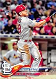 #3: 2018 Topps #21 Harrison Bader St. Louis Cardinals Rookie Baseball Card