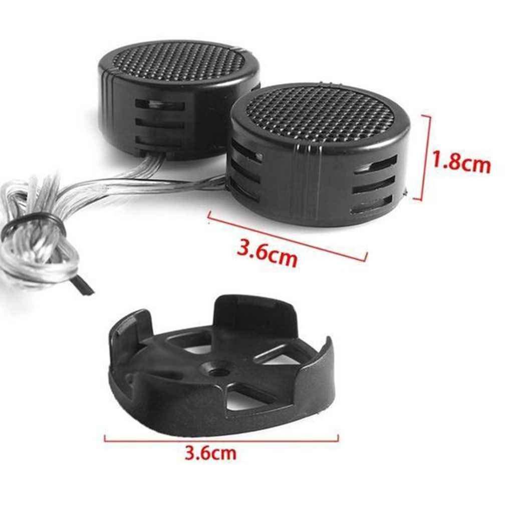1 Paar Universal Black Lautsprecher Hocht/öner Lautsprecher High Frequency Kunststoff 500W Horn TP-005A Autos Fahrzeug