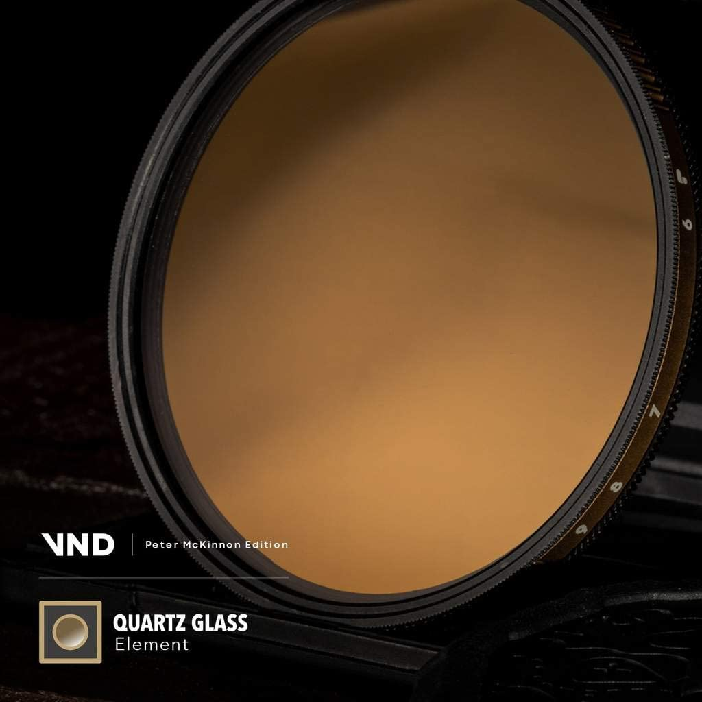 - Peter McKinnon Edition 6 to 9 Stops 82-6//9-VND PolarPro 82mm Variable ND Filter