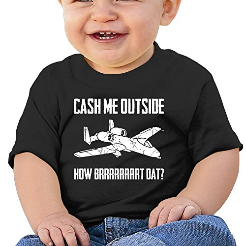 Cash Me Outside Baby & Toddler Short Sleeve Graphic Tees 12 Months (Halloween 2017 Teaser)