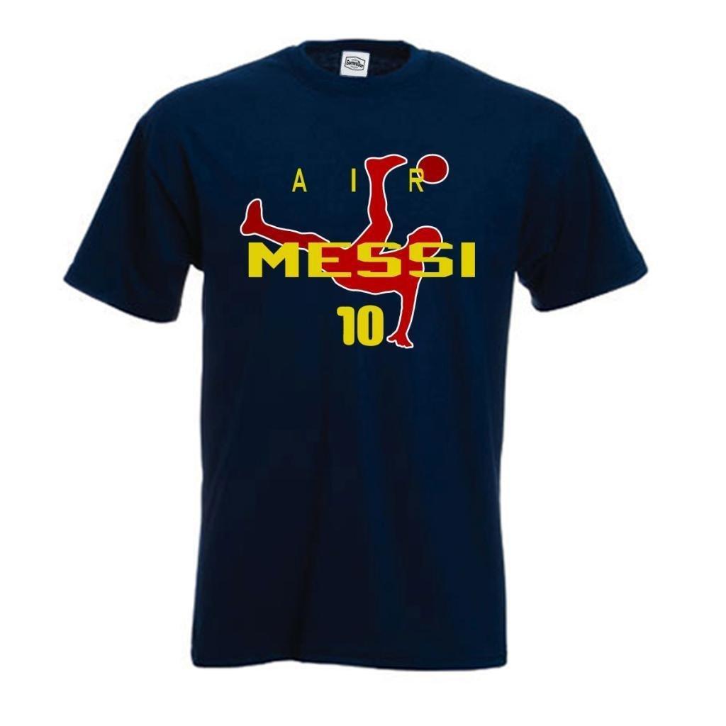 SMARTZONE Lionel Messi FC Barcelona Soccer Fan Air Messi T Shirt