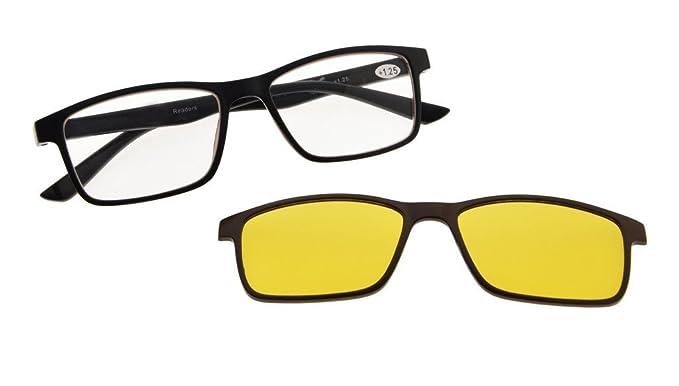 Amazon.com: anteojos de Lectura con Luz Azul Bloqueo, Anti ...