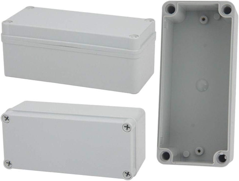 80 * 110 * 70 Bo/îtier en plastique ABS Maso IP65 r/ésistant aux intemp/éries pour ext/érieur//ext/érieur avec connecteur Blanc blanc HA0090B