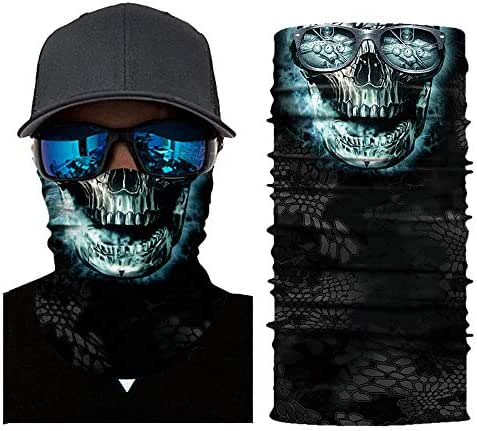 Yucode Magic Headband Neck Gaiter Cap Bandana for Hiking Cycling Motorcycle Hunting UV Dustproof
