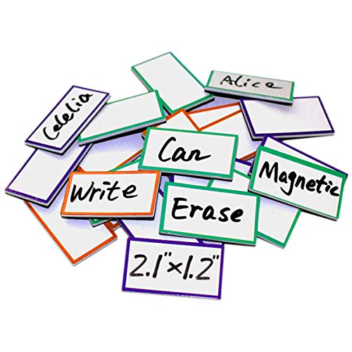 Nameplate Round - Magnetic Dry Erase Labels 2.1