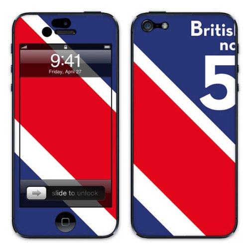 Diabloskinz B0081-0005-0015 Vinyl Skin für Apple iPhone 5/5S Brit