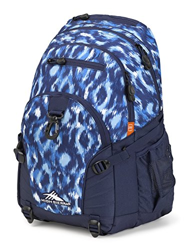 High Sierra Loop Backpack, Island Ikat/True Navy by High Sierra