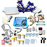 4 Color 2 Station Screen Printing Start Kit B