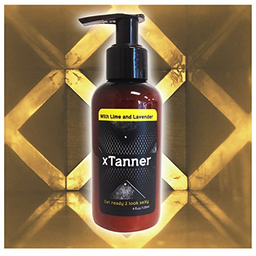 Natural Self Tanner for Men 4oz: Get Instant Face & Body Tan! Organic Indoor Sunless Tanning Lotion Without Bronzer. Clean Scent. Gradual Self-Tanner for Sun Kissed Glow. Tanners for Sensitive Skin