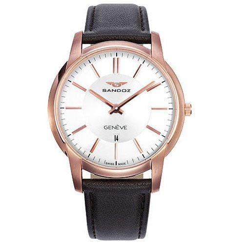 Reloj Sandoz Portobello 81347-90 Hombre Blanco