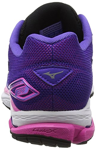 Electric Morado Liberty Rider Mujer W de Mizuno Black Running Zapatillas 20 Wave para O7176wqxf