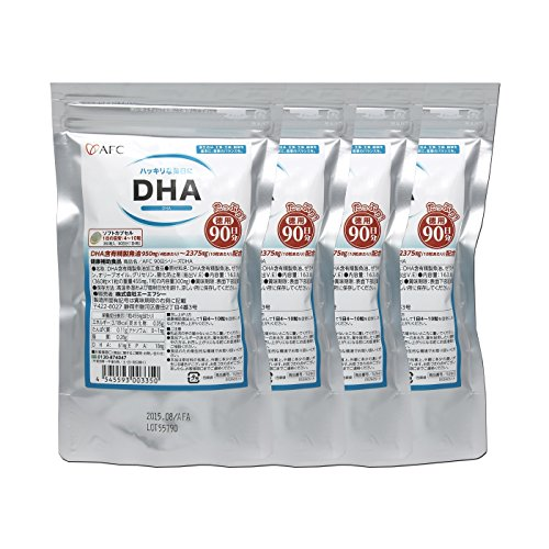 AFC DHA for 1 year (90 days series * 4 sets) by AFC