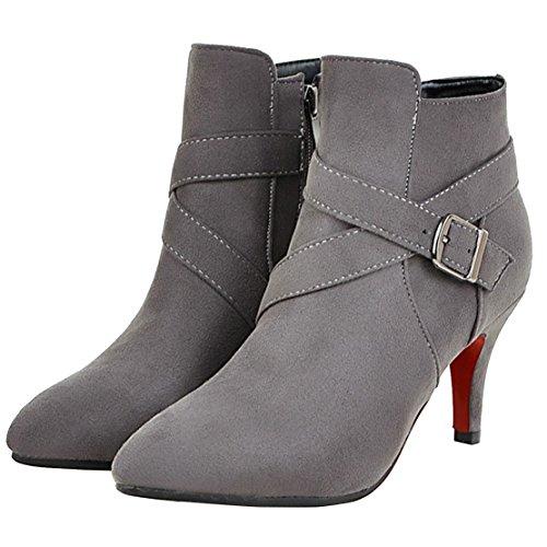 Classic Grey AIYOUMEI Boot Boot WoMen WoMen AIYOUMEI Classic Classic Grey WoMen AIYOUMEI Boot BFvawwZqY