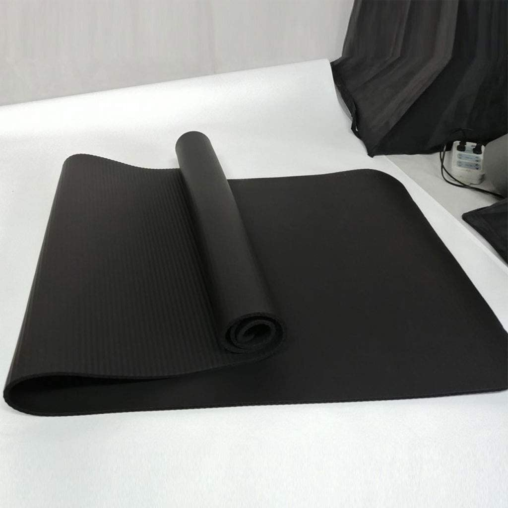GZCC Venta Estera de Yoga Deportiva Estera de Piso 10MM despeje ensanchamiento para Principiantes en el hogar alargamiento Estera de Dormitorio Engrosamiento Fitness