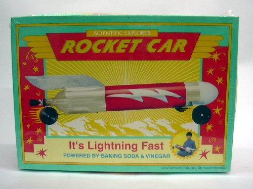 Scientific Explorer Baking Soda & Vinegar Rocket Car MIB 2000