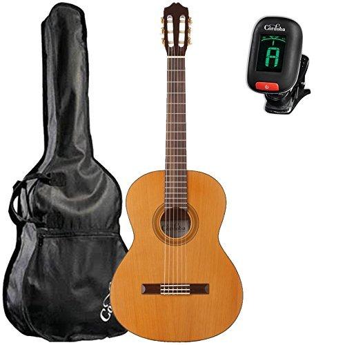 Cordoba C3M Classical Guitar with Cordoba Standard Gig Bag and Cordoba Clip-On Tuner [並行輸入品]   B07FQ2ZS7T
