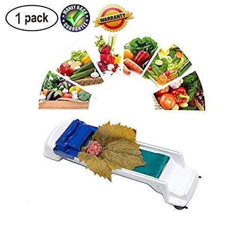 Magic Roller - uick sushi making tools New Vegetable Meat Rolling Tool Magic Roller Stuffed Garpe Cabbage Leave Grape Leaf Machine (1 Pack)