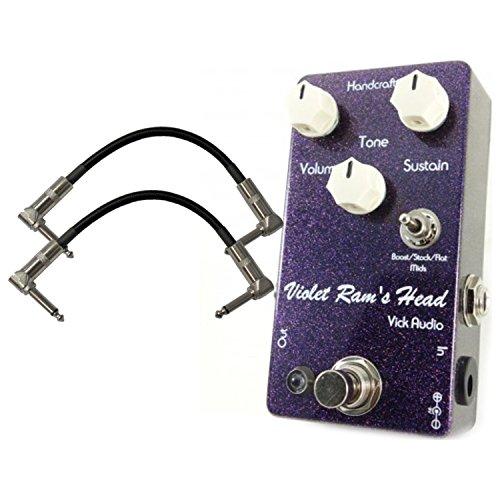 Vick Audio Violet Ram's Head Fuzz Pedal w/ 2 - Fuzz Boutique Pedals