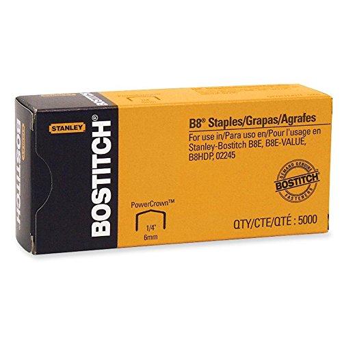 BOSSTCRP211514 - B-8 Staples, Chsl Pnt, Use In B8C, B8RC Line, 1/2W, 1/4L Stanley Bostitch