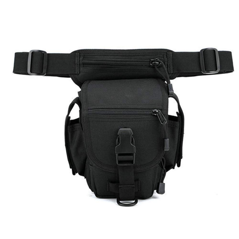 noir 151327cm Sac de taille grande capacité Pour des hommes taille pack sac de taille étanche polyvalent en plein air pour le sport en plein air voyager occasionnel en cours d'exécution Sac de taille de voyage sans rebond