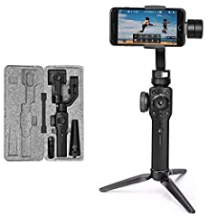 Zhiyun 2018 New Released Model  Advance Features:  1.Hot Keys Design for Instant Controls  2.Smooth Zooming and Precise Focusing  3.PhoneGo Mode for Instant Scene Transition  4.Two-way Charging with Longer Runtime + battery indicator  5.Objec...