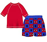 Marvel Toddler Boys' Spider-Man 2-Piece Swim
