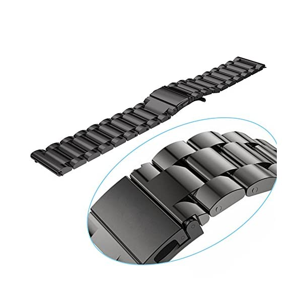 Cbin Quick Release Bracelet - Width 18mm / 20mm / 22mm / 24mm Stainless Steel Strap Wrist Band Replacement Watch Bands