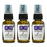 Triple OG 3 Pack - Super Concentrated Car Air Freshener - Room Spray - Toilet Spray - 1 oz Travel Size (Lavender Breeze)