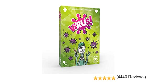 Tranjis Games - Virus! - Juego de cartas (TRG-01vir): Amazon.es ...