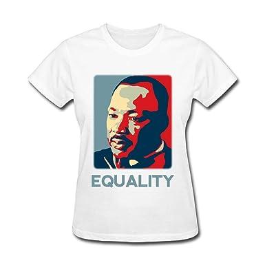 Amazon Com Zzczhu Martin Luther King Art T Shirt For Women Books