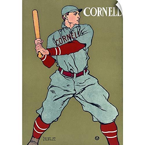 (CANVAS ON DEMAND Poster for The Cornell University Baseball Team, 1908