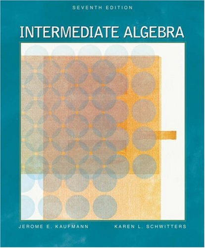 Intermediate Algebra (with CD-ROM, BCA/iLrn Tutorial, and InfoTrac) (Available Titles CengageNOW)
